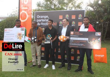 CAN 2019 - Orange Football 1