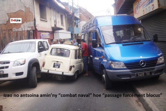 Delire accident 4L Ambatonakanga1