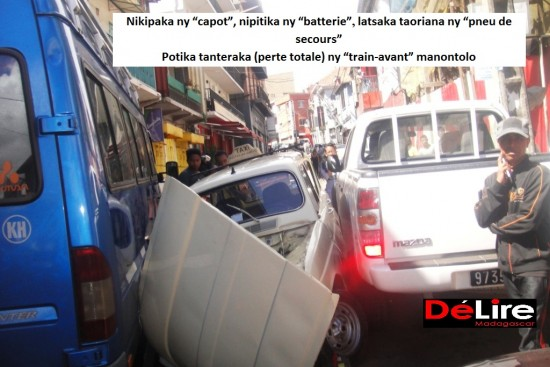 Delire accident 4L Ambatonakanga3