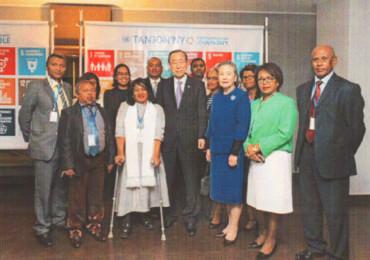 DELIRE passage Ban Ki Moon