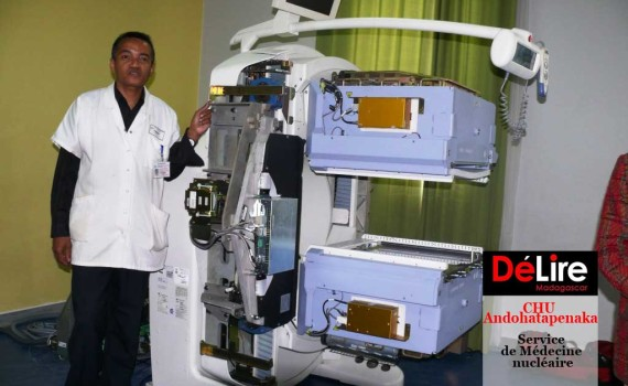 le Dr Rasata et la Gammacam