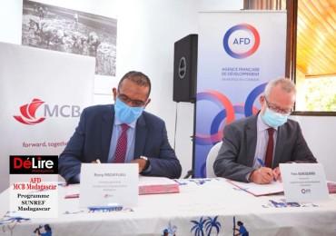 AFD - MCB Madagascar - programme SUNREF Madagascar