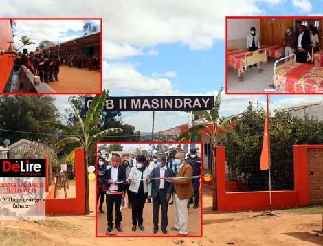 ORANGE SOLIDARITE MADAGASCAR - « Village orange » faha 27
